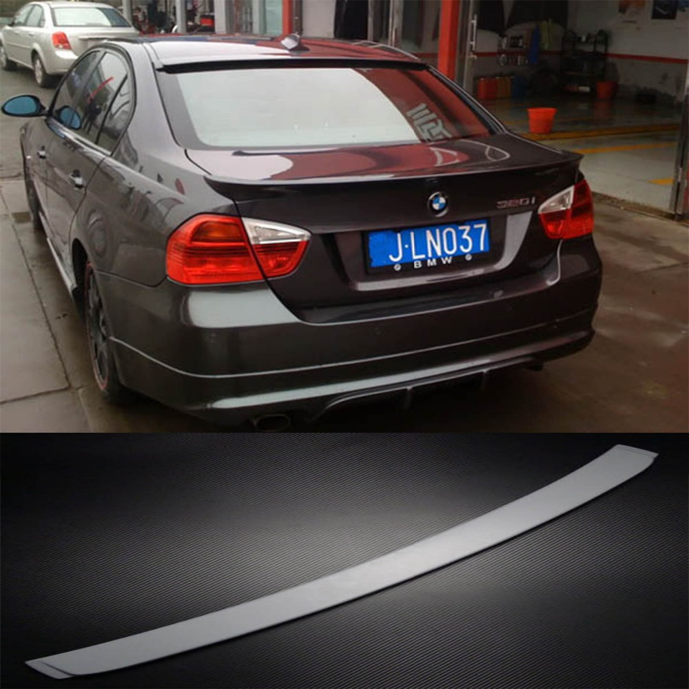 E90 Rear Roof Spoiler Wing lip Fit for BMW E90 320i 325i 330i 335i Sedan 2005