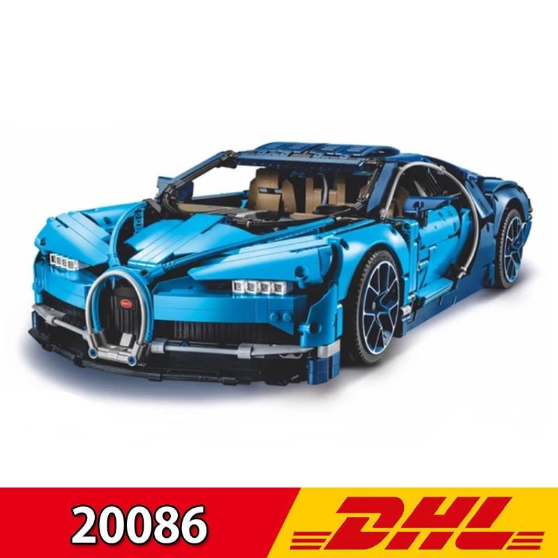 Technic voiture série Supercar Bugatti Chiron modèle 4031 pièces blocs de construction ensembles Lepining 20086 jouets LegoINGs 42083 briques