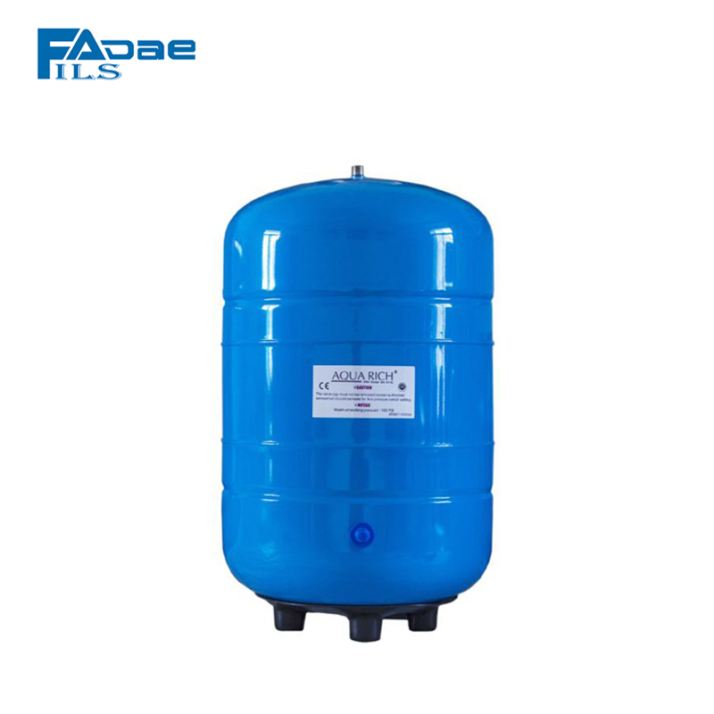 5 Gallon Pressurized Storage Tank for Reverse Osmosis Systems- Blue color5 Gallon Pressurized Storage Tank for Reverse Osmosis Systems- Blue color