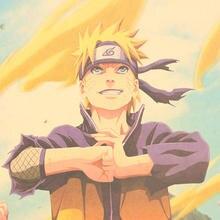 Naruto Kraft Paper Poster
