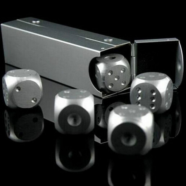 4 Pcs Stainless Steel Cocktail Cubes
