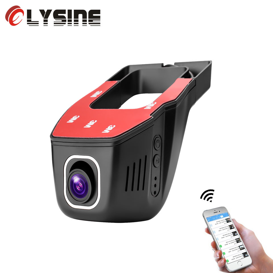 Olysine Original NT96658 Dash Cam WiFi Car DVR Camera Full HD 1080P V24 Auto Video Recorder WDR Night Vision Dashcam Registrator