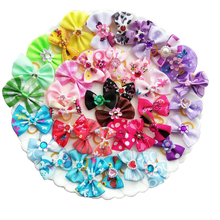 50pcs/100pcs Handmade Pet Grooming bow Dog Hair Accessories Bow Little Flower Bows For Dogs Charms Gift