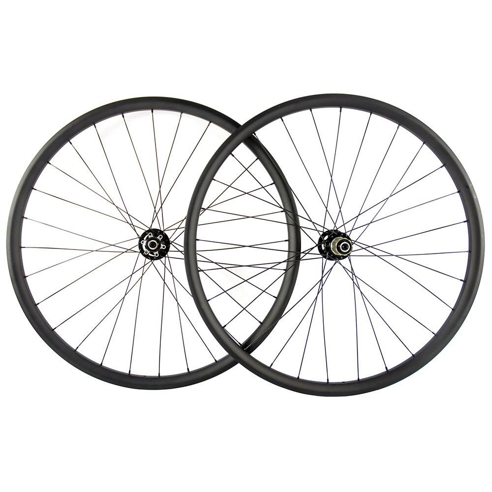 New arrival MTB wheelset 29er 27/30/35mm Hookless 29er carbon mtb wheels Tubeless 32-32h 29