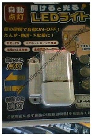 Wireless Magnetic Sensor Cabinet Light/Wardrobe LED Light/Automatic Magnetic Sensor LED Light & 10 Sets/Lot Free Shipping