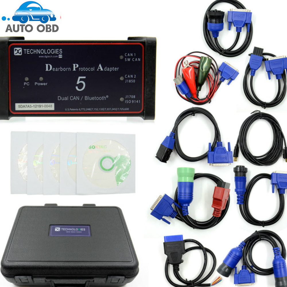 Image 2 - Dearborn Protocol Adapter5 Heavy Duty Truck Scanner DPA5 Without Bluetooth diagnostic tool DPA 5 on