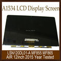 "Original 100% New Laptop 12"" A1534 LCD Display Screen MF865 MF865 LSN120DL01-A For Apple Macbook Air Early 2015 Year Tested"