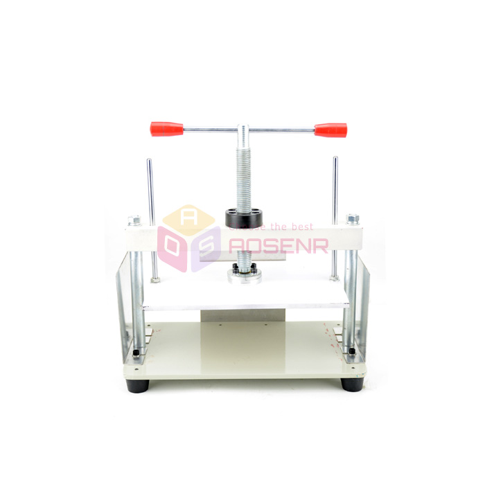 US $200 68 |Manual A4 Size Paper Press Machine Flat Paper for Album Paper  Checks Booklets Money Receipt Nipping Vouchers Invoices-in Tool Parts from