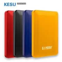 KESU-2518 External Hard Drive USB3.0 HDD 2TB 1TB 500GB 120GB 160GB 250GB 320GB Portable External HD Hard Disk for Desktop Laptop