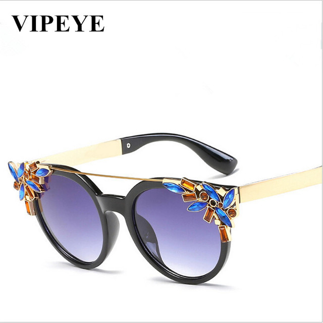 Personnalité / transparent / lunettes de soleil / ronde / petit visage / décoration / lunettes de soleil / lunettes de voyage , 3