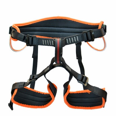 1500KG Outdoor safety belt mountaineering rock climbing cable harness rope lifting sling chain new outdoor climbing climb mountain rope safety waist belt protection equipment workplace safety harness