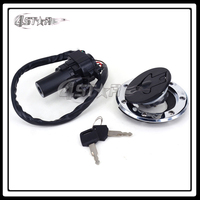 Motorcycle Lockset Key Switch Fuel Gas Cap Seat Lock Keys For ZR400 ZZR400 ZZR600 ZXR400 ZXR750 ZX900 NINJA ZX9R ZX7R ZX7RR