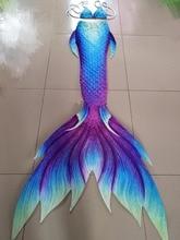 HOT!Girls Kids/Children Adult Women Man Mermaid Tail With Monofin Bikini Top Photos Props Cospaly Costumes Beauty Swimwear
