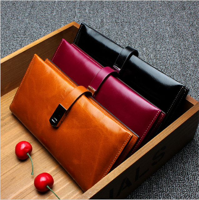 2017 New Female Coin Purse Wallets Fashion Leather Wallet  Card Holder Famous ladies Brand Women Clutches