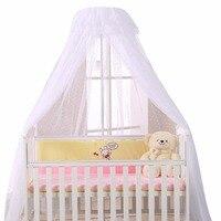 Baby Crib Netting Canopy Bed Mosquito Net Breathable Insect Mosquito Net for Baby Crib Bed Canopy Round Dome Mosquito Netting