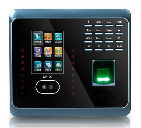 WiFI Fingerprint Time Attendance ZK UF100Plus WiFi TCP/IP Face Time Attendance System With Free Software GM300 FACIAL RECOGNITIO biometric face and fingerprint access controller tcp ip zk multibio700 facial time attendance and door security control system