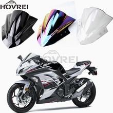 Для Kawasaki Ninja 250 300 EX300 EX 300 2013 Double Bubble лобовое стекло ветровое стекло мотоцикла ветровые дефлекторы