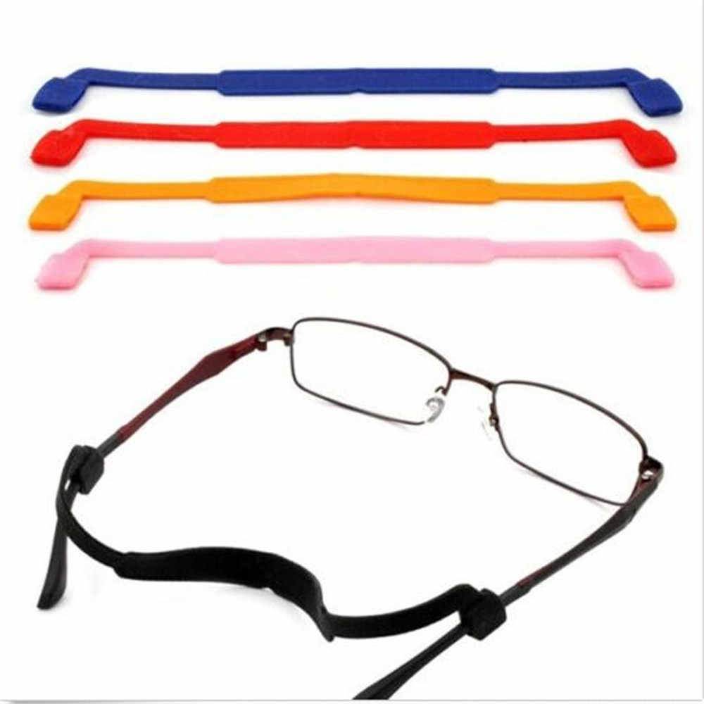 Hot Sale 1PC Magnetic Silicone Eyeglasses Strap Glasses Sunglasses Sports Band Cord Holder Anti-Slip String Glasses Ropes