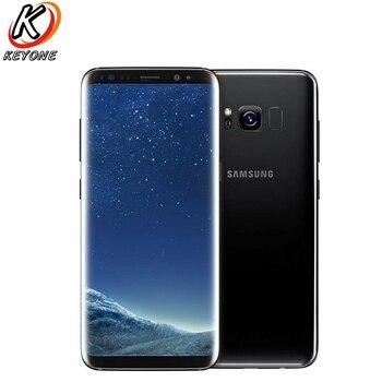 Перейти на Алиэкспресс и купить Оригинальный Новый Samsung Galaxy S8 G950FD мобильный телефон 5,8 дюймExynos 8895 4 Гб ОЗУ 64 Гб ПЗУ IP68 Водонепроницаемый Пылезащитный телефон с двумя sim-картами