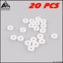 حشية دائرية PCP ذات ضغط عالي PE M10 مانعة للتسرب في الهواء لقياس صغير pcp مضخة يدوية موصل أنثى 20 قطعة