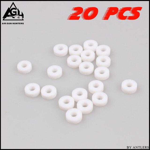 ペイントボールpcp高圧pe m10 oリングガスケット空気シールシール用ミニゲージpcpハンドポンプ女性コネクタ20ピース