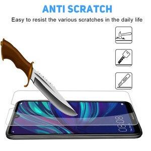 Image 3 - Protector de cristal templado 9H para pantalla de móvil, película protectora para Huawei Y5 Y6 Y7 Prime Pro Y9 2019, Honor 8A 8S 10 Lite 10i