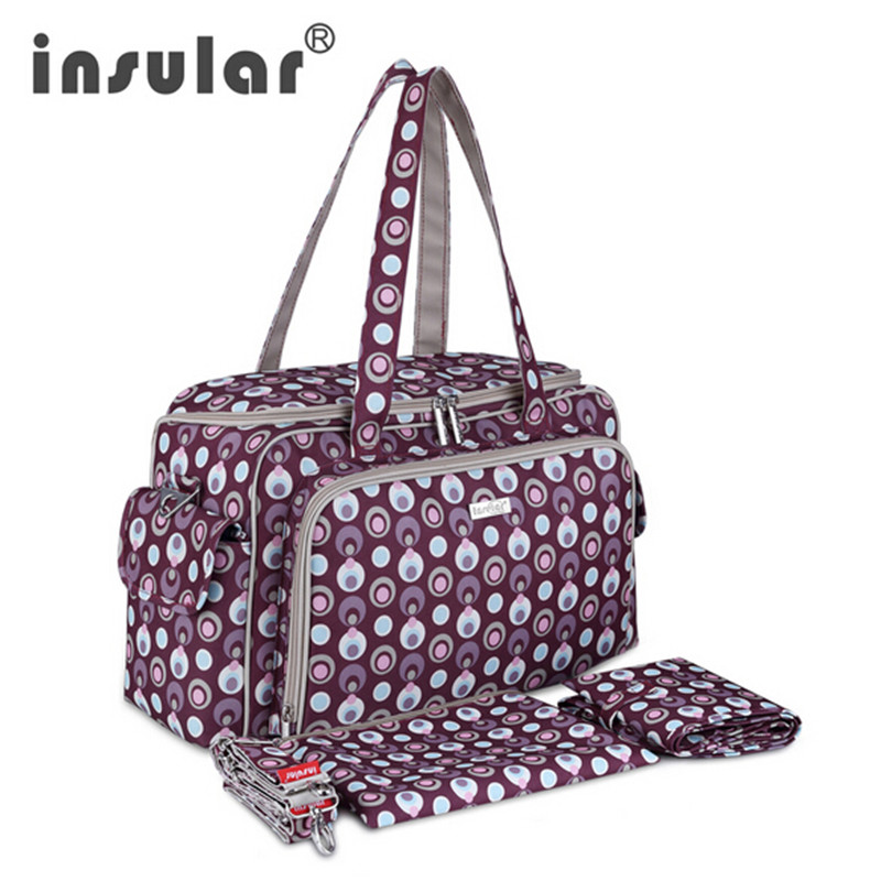 ФОТО Baby nappy bag backpack portable mother bag fashion maternity baby bag mother baby bag multifunctional large capacity