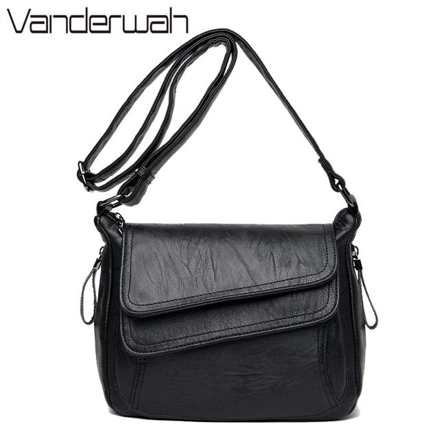 VANDERWAH Luxury Handbags Women Bags Designer high quility Leather Women Handbag Summer Style Women Bag sac Small Handbag 2017
