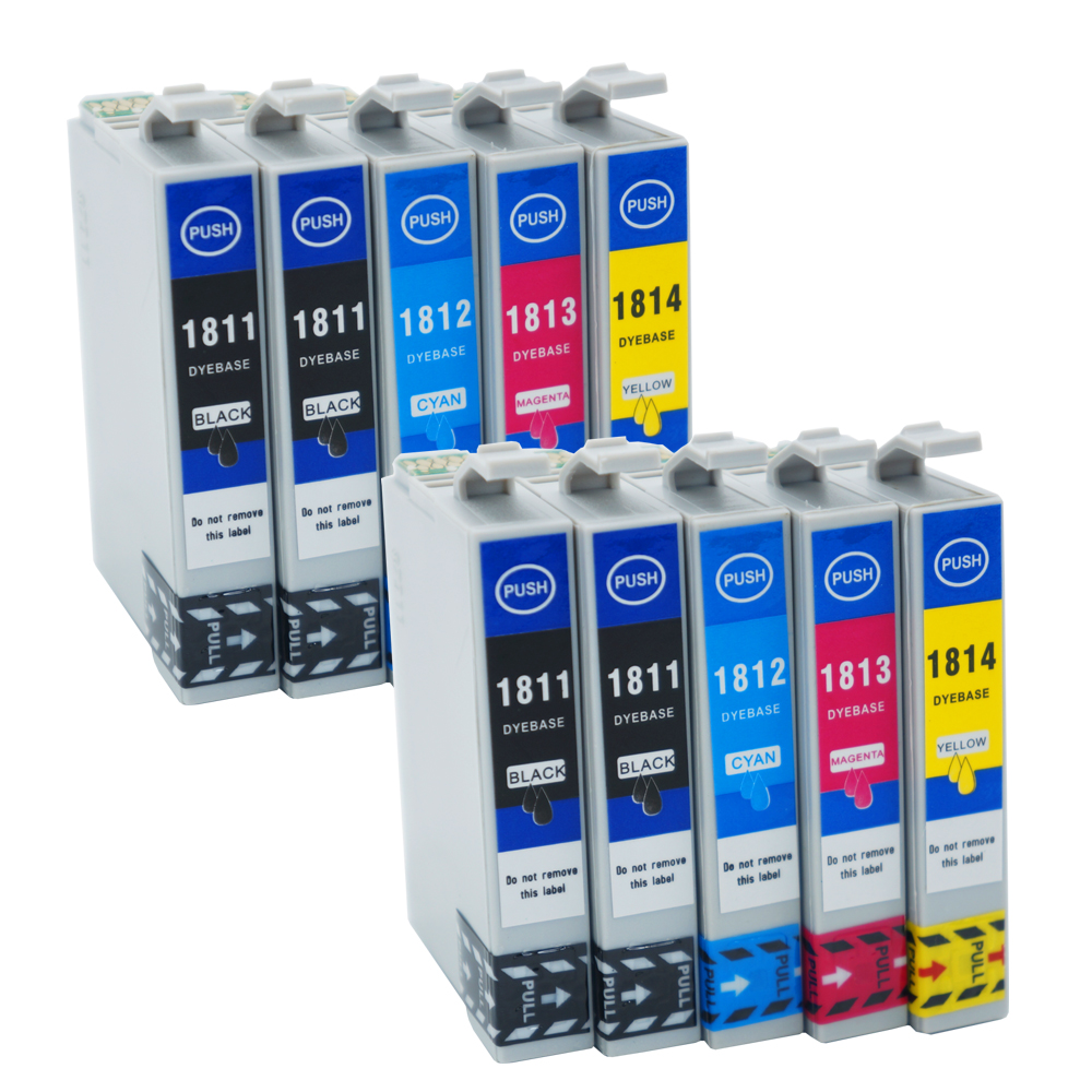 Weemay 18xl Ink Cartridges T1811 For Epson Xp 202 Xp 305 Xp 415 Xp