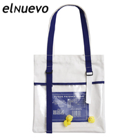 fe37307852 Canvas Shoulder Bags Environmental Shopping Bag Letter Women Cotton Canvas  Fabric Eco Tote Bag Bolso Mujer