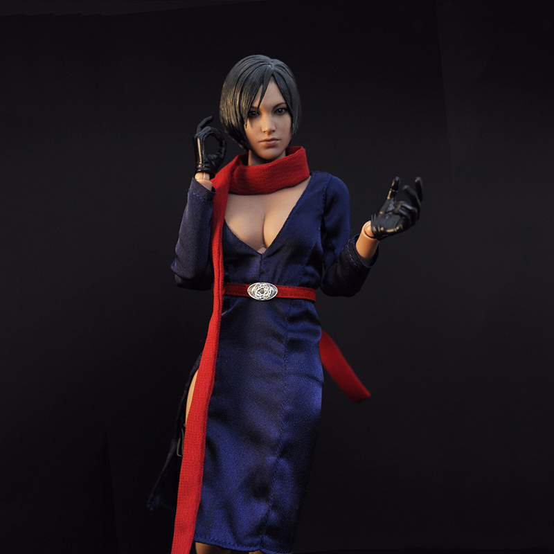 1/6 Scale Female Clothing Model Toys Resident Evil 5 Aida Wang Kara Garment Set Searing Soul   Model Gifts For Children Col 1 6 scale resident evil 6 leon scott kennedy full set action figure for collections