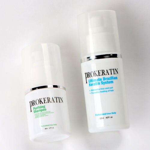HOTSale chocolate 5% Formaldehyde keratin treatment  keratin purifying Shampoo mini hair repair set for DIY at home freeshipping