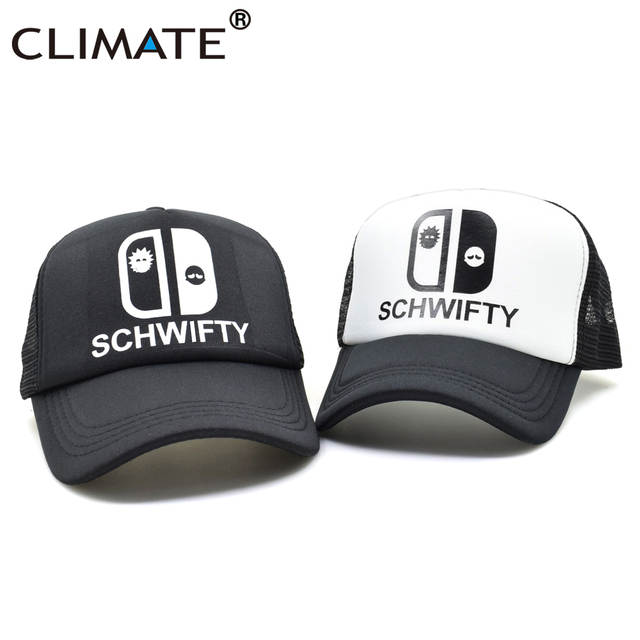 9813d8956e1 placeholder CLIMATE Men Women Rick and Morty Caps Get Schwifty Summer  Trucker Caps Cool Funny Rick Morty