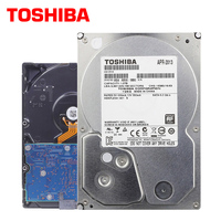 TOSHIBA Video Surveillance HDD 3.5 Internal Hard Disk Drive 1TB 5700RPM SATA 6Gb/s 32MB for DVR NVR CCTV Camera Security System