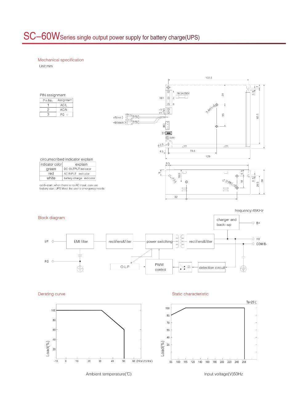 Sc 60 24 Ac Dc Constant Voltage Output 24v 2a Battery Backup Ups Circuit Diagram 100w 60w 001 002
