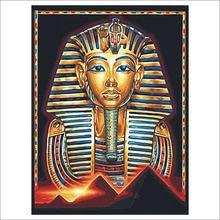 """Алмазная живопись 5d """"сделай сам"""" египетский фараон"""