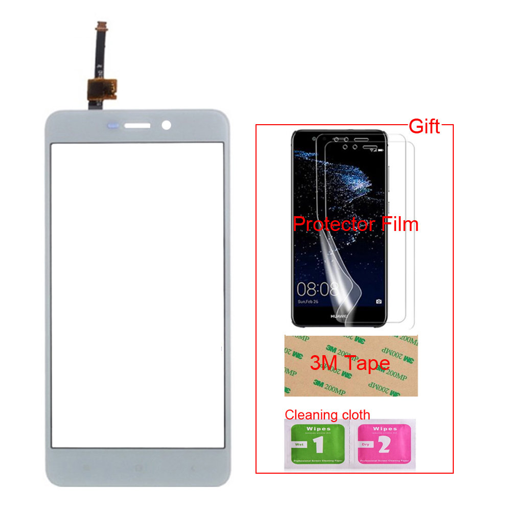 TouchGlass Mobiele Touch Screen Voor Xiaomi Redmi 4X/Redmi Note 2 Opmerking 3 Note 5A 4A Touch Screen Glas digitizer Panel Sensor title=