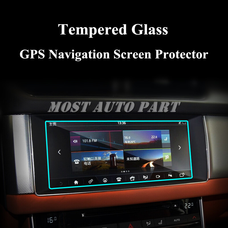 "Jaguar Xf X260: 10.2"" Tempered Glass GPS Navigation Screen Protector For"