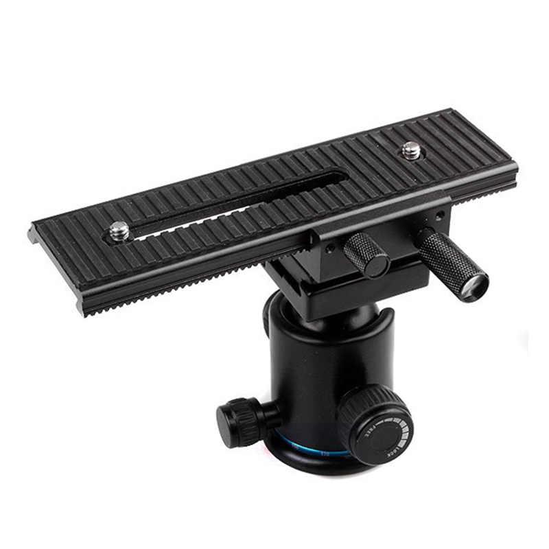 Close-Up Fotografi LP-01 2-Way Makro Fokus Fokus Rel Penggeser untuk Canon Nikon Sony Pentax fuji Olympus Kamera DSLR