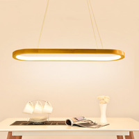 Nordic LED Pendant Light Dining Light Wooden Pendant Lamp Kitchen Island Dining Room Modern Light Fixture Kitchen Hanging Lamp
