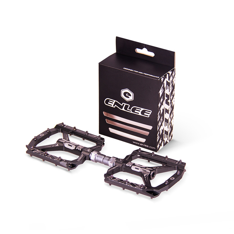 Ultraleve mtb DH XC mountain bike pedal pedal da bicicleta todos CNC L7U Material + DU Rolamento Pedais De Alumínio