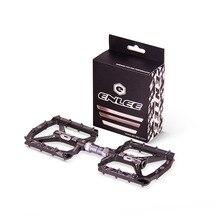 超軽量自転車ペダルすべてのcnc mtb dh xcマウンテンバイクペダルL7U素材 + duベアリングアルミニウムペダル