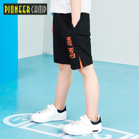 Pioneer kid new summer boys casual shorts children clothing letter printed for teenage boys summer knee length pants BDK809038