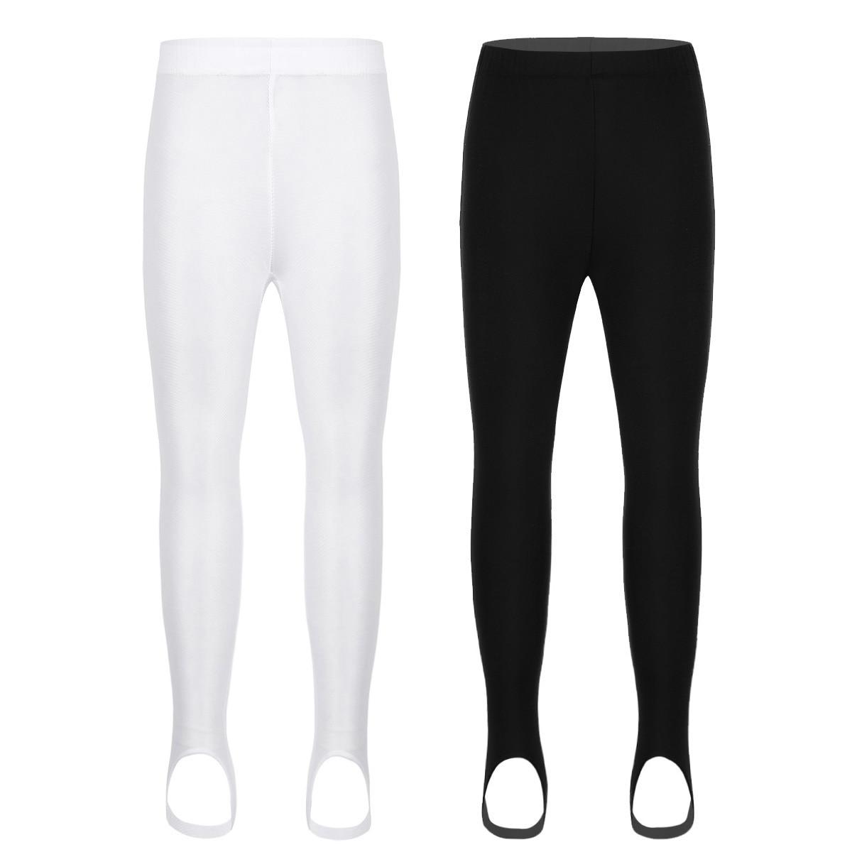 Girls Ballet Dance Stirrup Pantyhose Stockings Tights Yoga Gymnastics Sports