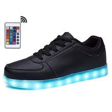 Remote Luminous Sneakers for Women LED Shoes Glowing Sneakers with LED Light USB Charging Light Up Shoes zapatillas con luces