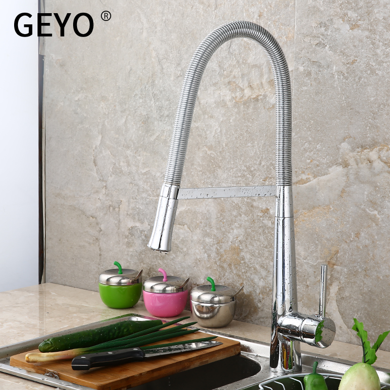 GEYO New Arrival Kitchen sink Faucet Mixer Cold and Hot water Kitchen Tap Single Hole Water Tap Zinc alloy torneira cozinhaGEYO New Arrival Kitchen sink Faucet Mixer Cold and Hot water Kitchen Tap Single Hole Water Tap Zinc alloy torneira cozinha