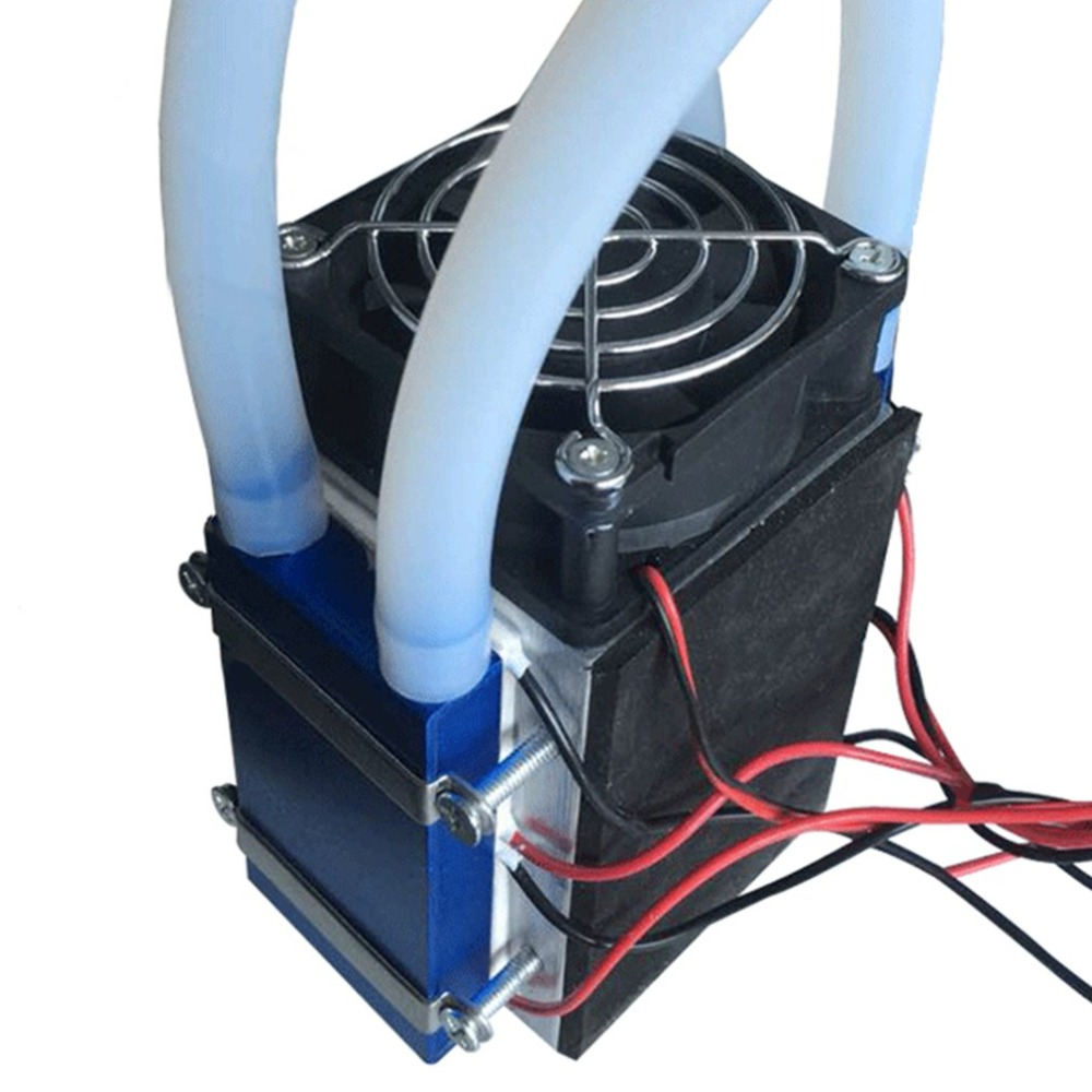 12V Thermoelectric Cooler Refrigeration Water Chiller DIY Cooling System UB
