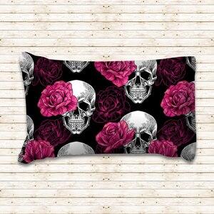 Image 2 - Rose Skull Black Duvet Cover Bedding Set Bed Sheet Twin Full Queen King Size 3PCS