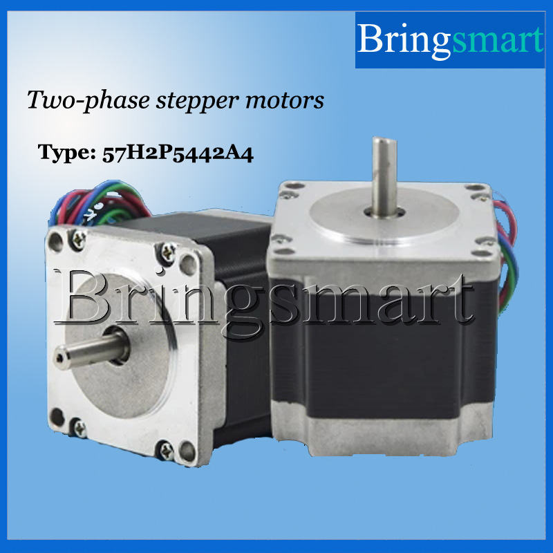 Bringsmart 57 Four-Wire Two-Phase Stepper Motor DC Low speed Motor  High Torque Drive Miniature Motors toothed belt drive motorized stepper motor precision guide rail manufacturer guideway
