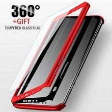 Роскошный 360 чехол для телефона для Xiaomi mi 8 SE A1 A2 Lite Red mi 4X 4A 5A 5 Plus 6 Pro 6A полное покрытие со стеклом для Red mi Note 4X 5A